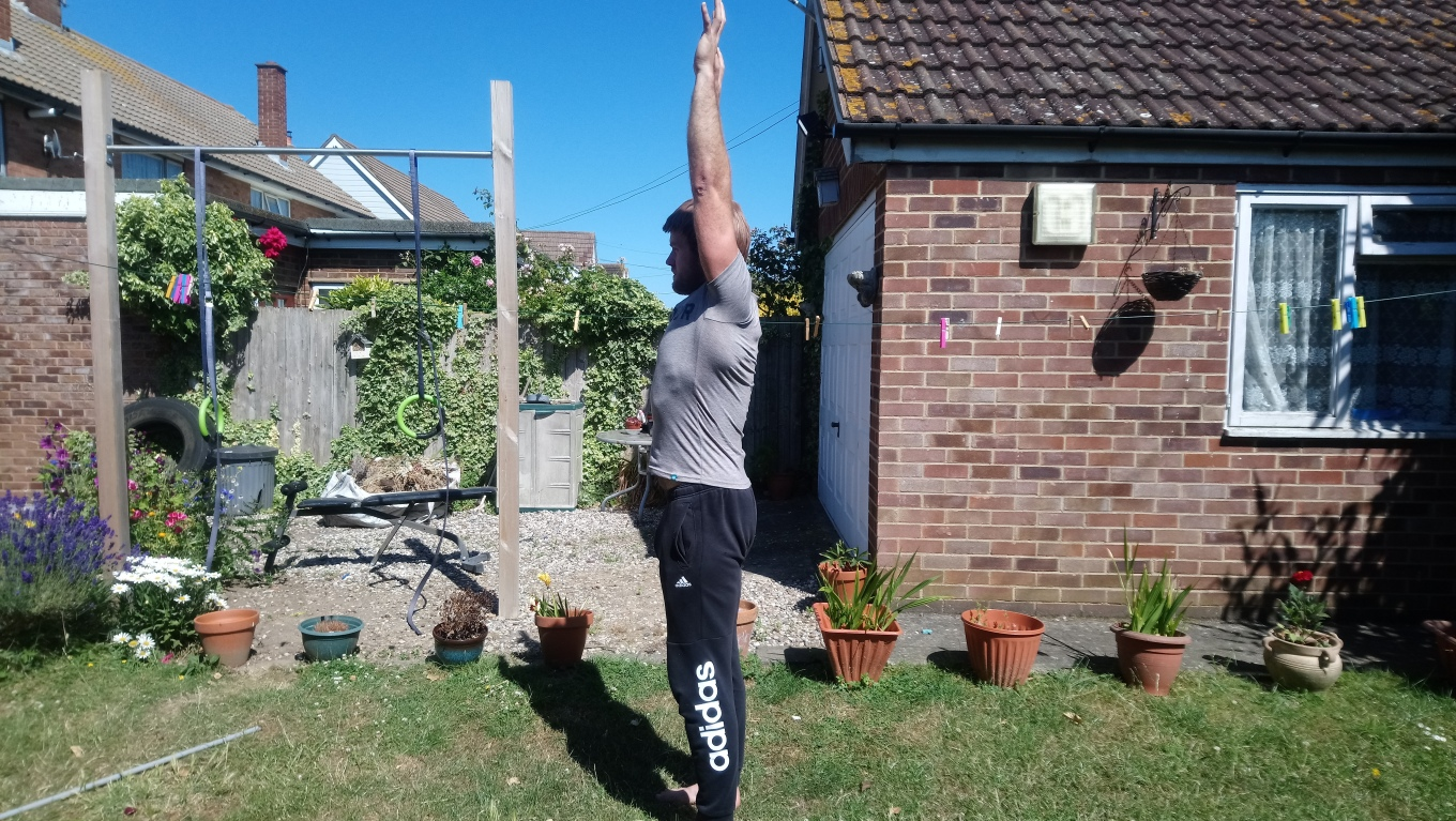 Calimove AFTER PHOTOS shoulder flexion