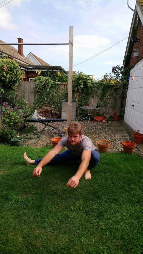 Left leg cossack squat