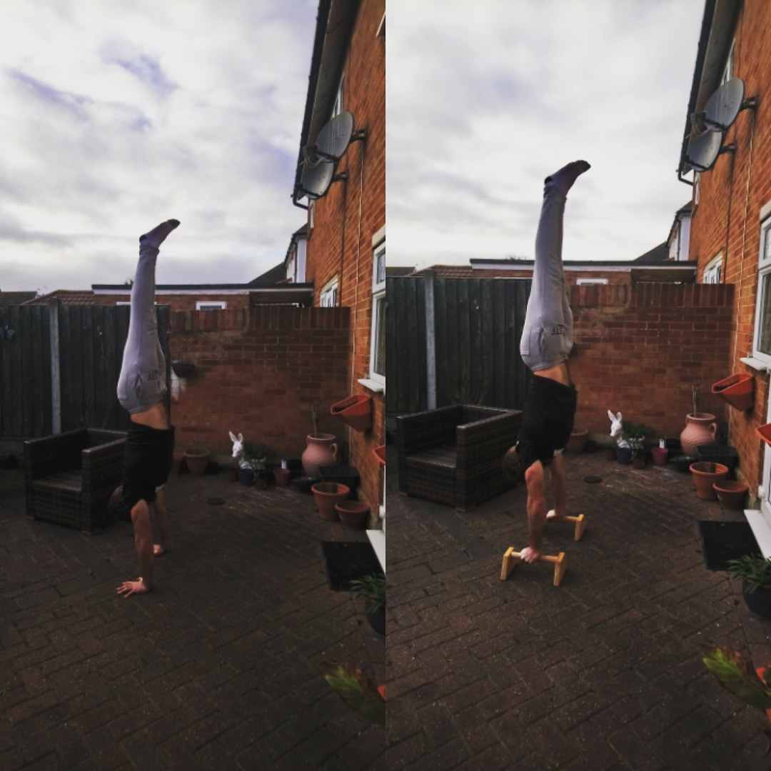 handstand progress (january 2019)