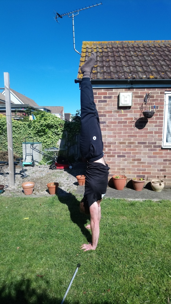 Parallette handstand line May 2019