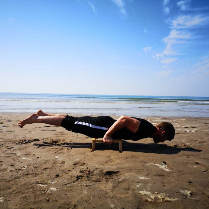The 'Bent Arm Planche'