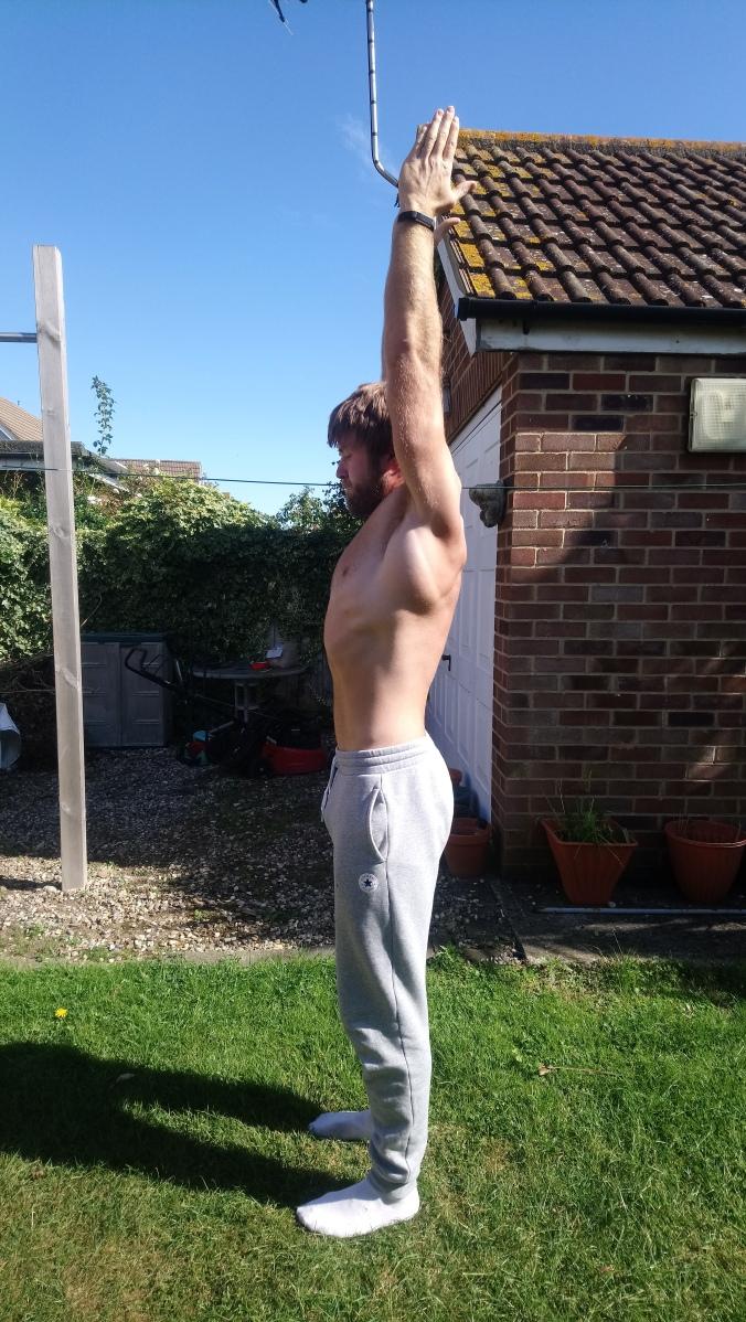 Active shoulder flexion (September 2019)