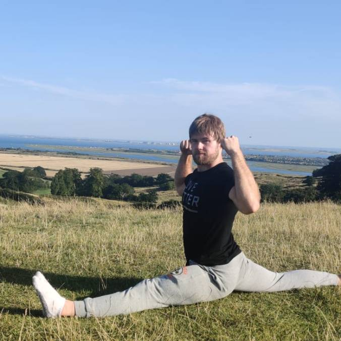 First FLAT FRONT SPLITS (August 23rd 2019!)