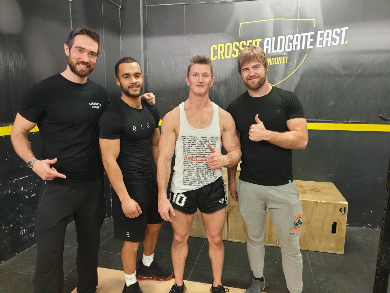 Judges Crossfit Aldgate December 2019